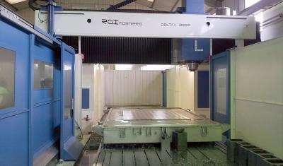 RGI FRANCE - Machine Deltax - Fraisage matériaux durs