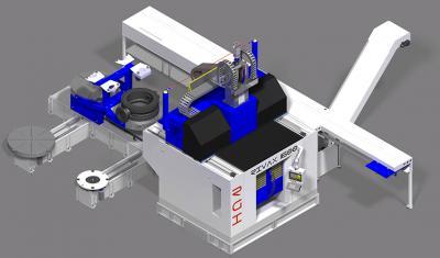 RGI FRANCE - Machine Rivax - Complexe d'usinage (Fraisage 5 axes ou Fraisage et tournage)